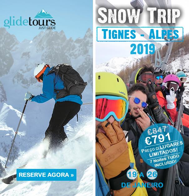 Pacote Férias SnowTrip Tignes Alpes 2019 a 701€ Tudo Incluído