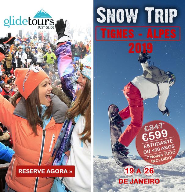 Pacote Férias SnowTrip Tignes Alpes 2019 a 599€ Tudo Incluído